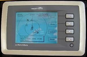 Bij de stuurstand bediening dmv de Vesper Watchmate WM650