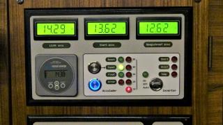 Remote bediening van de Lader/invertor