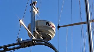 Aangepast voor de 'nieuwe' radardome