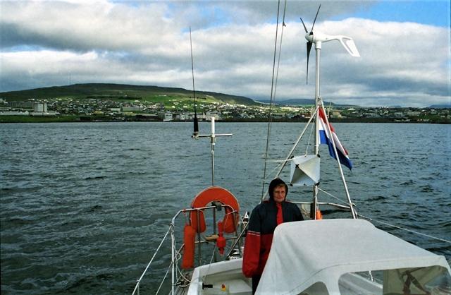 Vertrek uit Torshavn