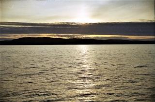 De zon komt op in de vroege ochtend