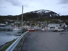 De jachthaven van Skervøy