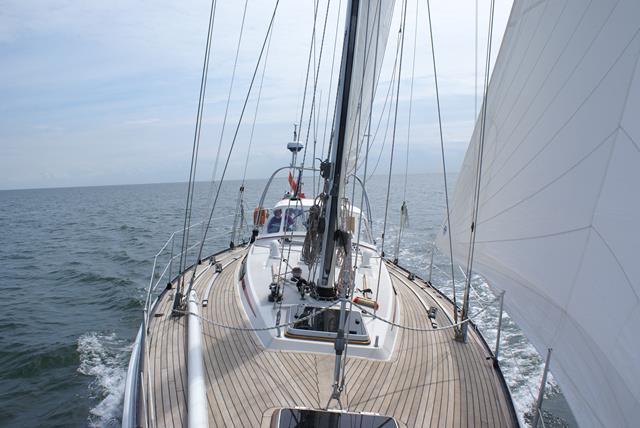 Voor het eerst op de Noordzee met de Trintella!