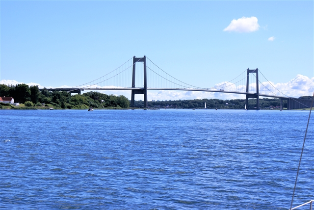 Een van de bruggen bij Middelfahrt