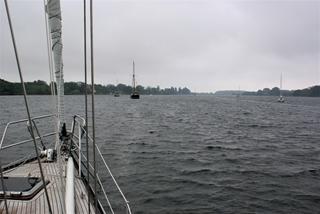 Op de ankerplaats bij Thurø
