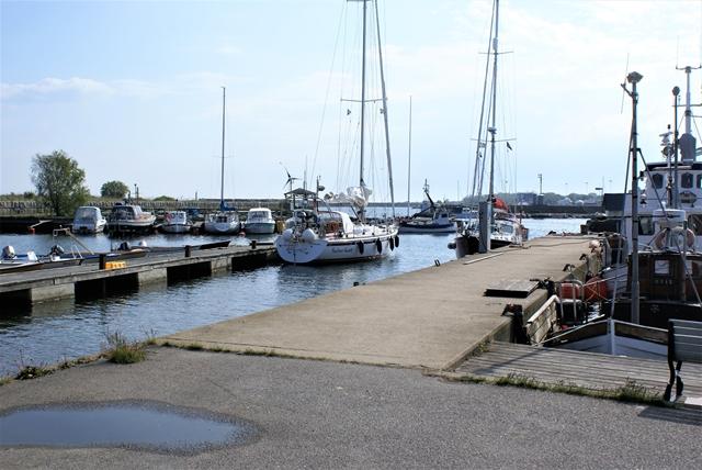 Naar het rustige haventje van Nogersund