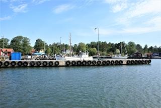 In de vissershaven Grisslehamn
