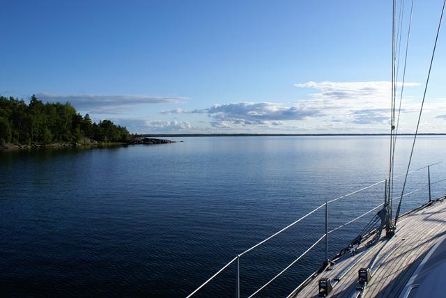 Ankeren in Långviken, Gräsö