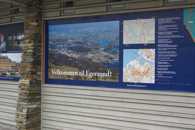 Welkom in Egersund, een goede jachthaven!