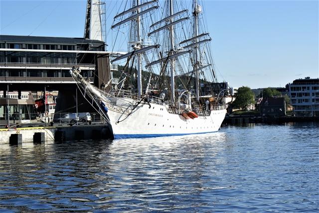Wat een pracht, zo'n tall ship!