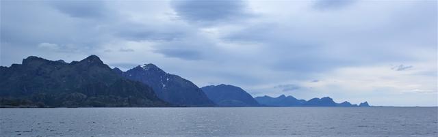 Het Noorse vasteland