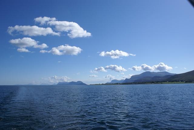Een prachtige dag in de Harøyfjord