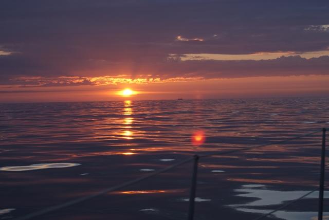 ...en de zon komt weer op. De tweede dag!