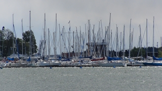 Een van de 'Upper band' jachthavens