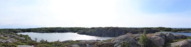 Een overzicht van de lagune