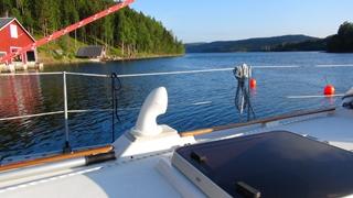 De Mjällomsviken vanaf de boot