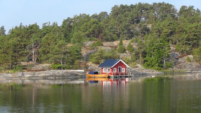 Een mooi huisje op een prachtig plekje in een schitterende omgeving