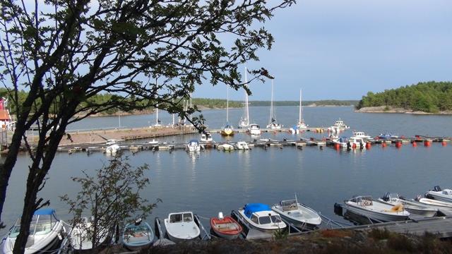 Het haventje van Klintemåla