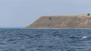De hoge kust bij Kaseberga
