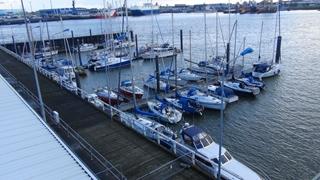 Een week wachten op beter weer in Cuxhaven