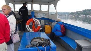 Comfortabel met de ferry naar het centrum