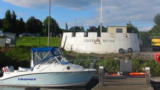 De jachthaven van Coleraine