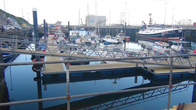 Scrabster, een commerciële haven