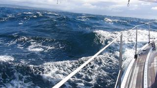 Vervelende golven rond Lista, maar wel met een zonnetje