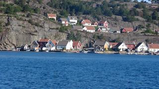 Zomaar een plaatje langs de Noorse kust