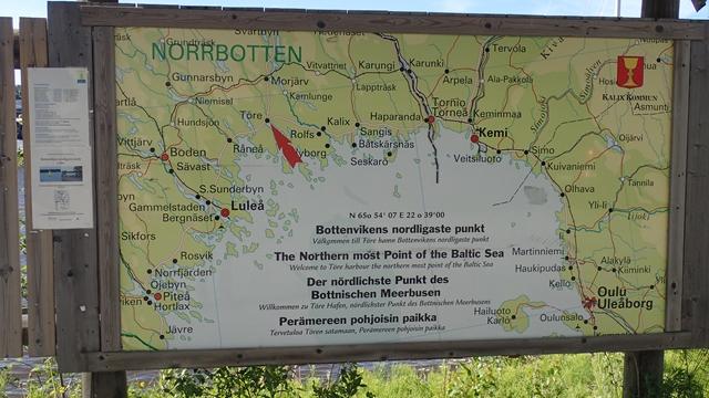 De Törensen zijn er trots op dat ze de noordelijkste haven in de Bottenviken zijn