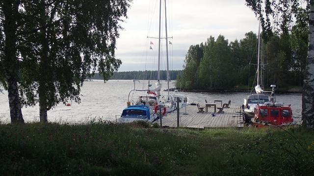 De Gästhamn: slechts één drijvende steiger, maar de hele week voldoende ruimte