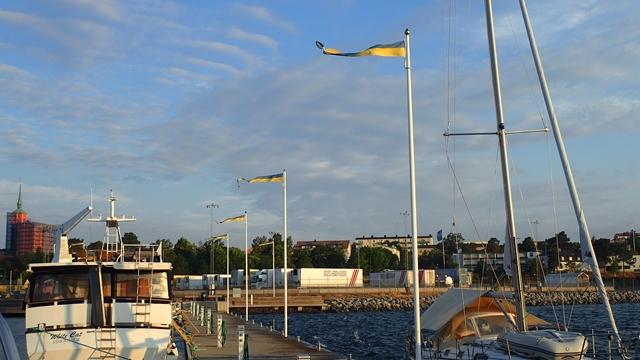 Er staat een mooie wind om naar Gotland te zeilen