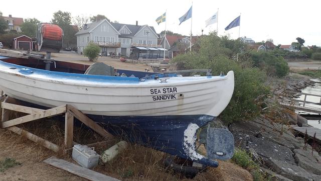 Dit bootje hoort beslist thuis in Sandvik