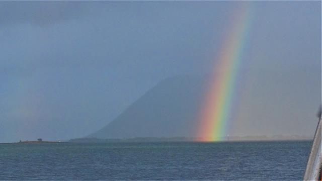 Een prachtige regenboog