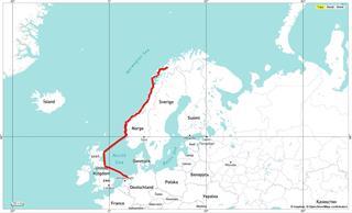 De route Noordwaarts